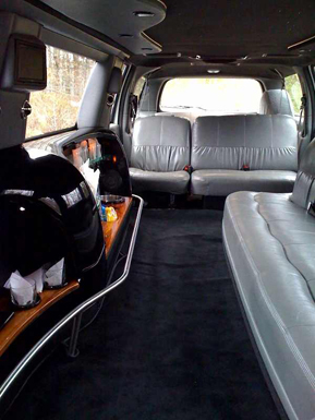 Excursion Stretch Limousine Interior